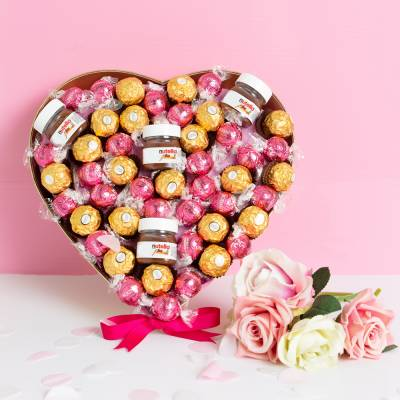 The Pink ChocoLover Hamper