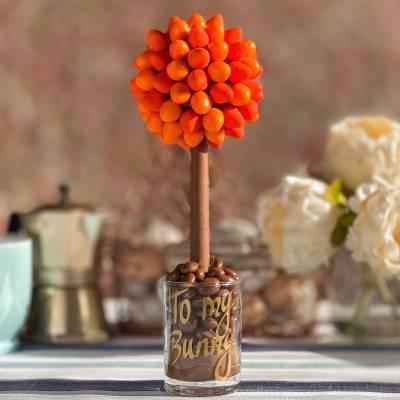 Chocolate Orange Eggs Tree