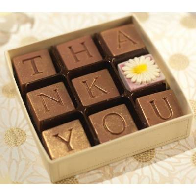 Thank You Chocolate Gift - Chocolate Gifts