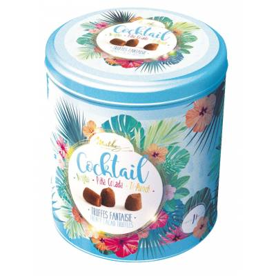 French Cocoa Dusted Cocktail Truffles Tin