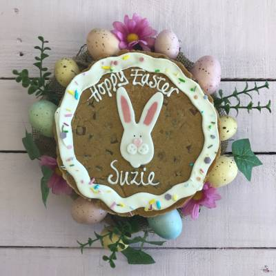 Giant Easter Bunny Cookie