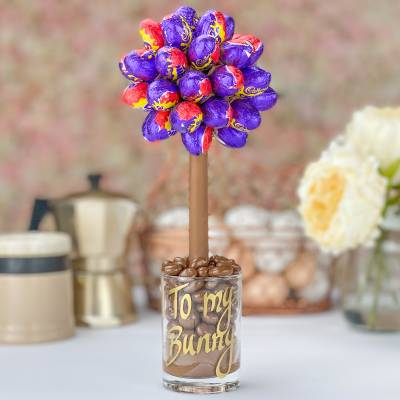 Cadbury Creme Egg Chocolate Tree 25cm