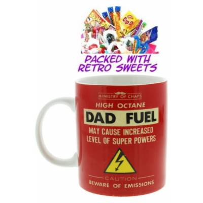 Dads Fuel Cuppa Sweets - Sweets Gifts
