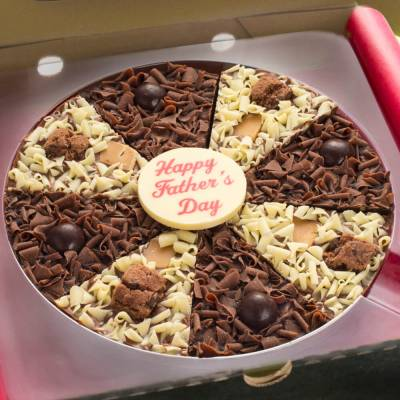 Fathers Day Chocolate Pizza
