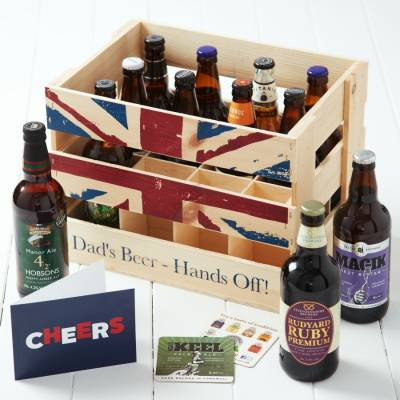Dads Beer Crate - Beer Gifts