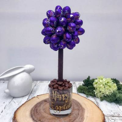 Personalised Daim Egg Tree