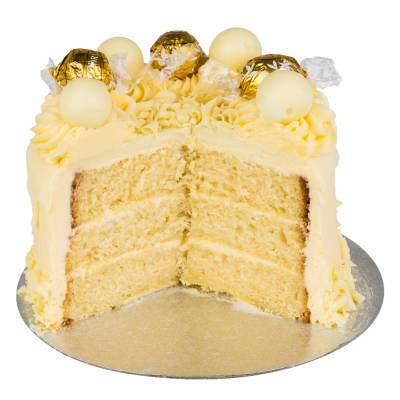 White Chocolate Lindt Cake