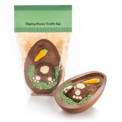 Digging Bunny Gourmet Truffle Egg