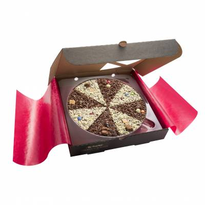 Delicious Dilemma 10inch Chocolate Pizza - Chocolate Gifts