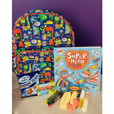 Dinosaurs and Superhero Activity Set