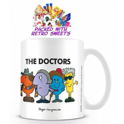 Dr Who Mr Men Cuppa Sweets - Mr Men Gifts