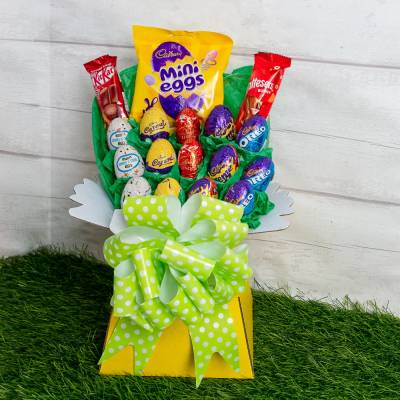 Easter Egg Chocolate Bouquet
