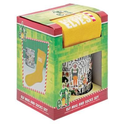 Elf Mug and Socks Gift Set