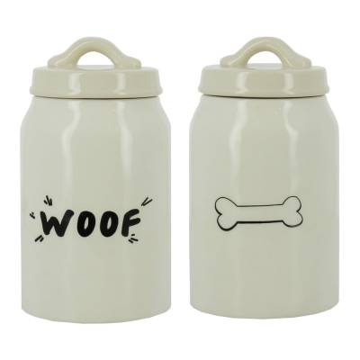 "Best in Show ""Woof"" Dog Treat Jar"