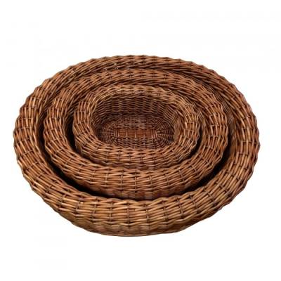 Large Wicker Darcy Dog Bed