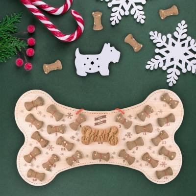 Dog Bone Advent Calendar