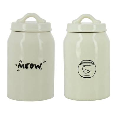 "Best in Show ""Meow"" Cat Treat Jar"