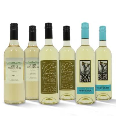 Mixed White Wines Case 6 x 75cl