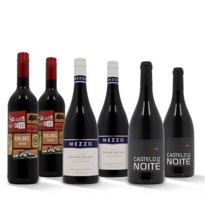 Luxury Mixed Red Wines Case 6 x 75cl