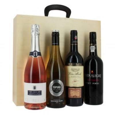 The Four Bottle Gift Case