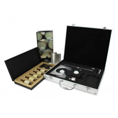 Click to view product details and reviews for Whisky Tasting And Aluminium Executive Golf Gift Set.