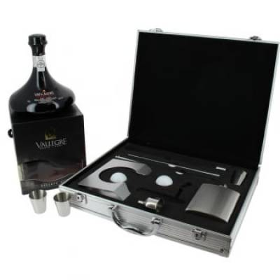 Deluxe Port Decanter and Golf Gift Set