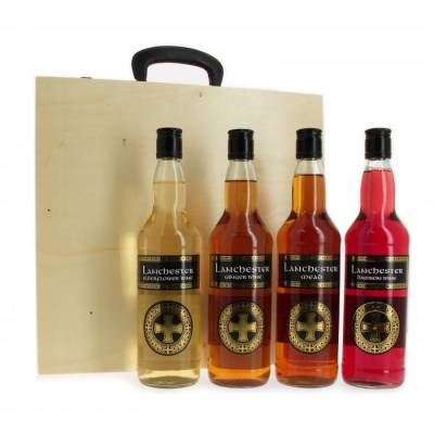 Rustic Fruit Wine Suitcase Selection