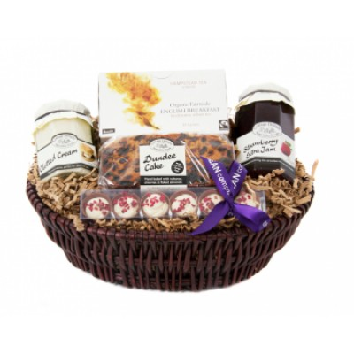 Afternoon Tea Luxury Basket