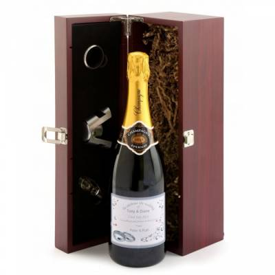 Personalised Champagne Gift Set