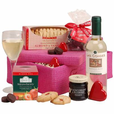 The Ladies Pink Gift Basket