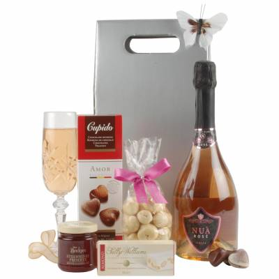 Rose Prosecco And Treats Gift