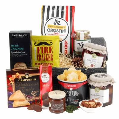 The Swanky Savoury Selection Hamper