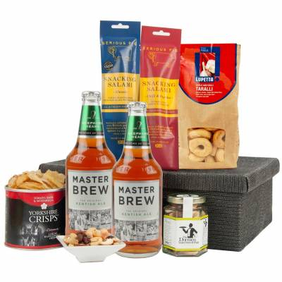 The Grand British Beer and Snacks Hamper