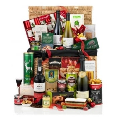 'The Mistletoe and Wine' Hamper - Mistletoe Gifts