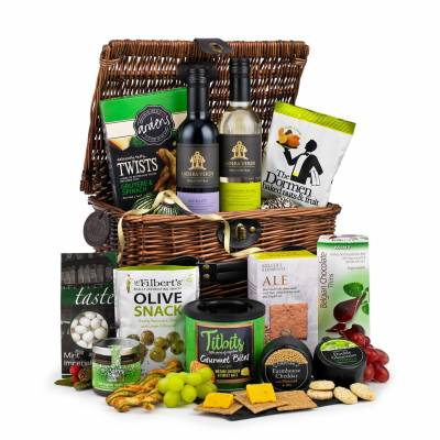 The Cheese, Wine and Nibbles Hamper