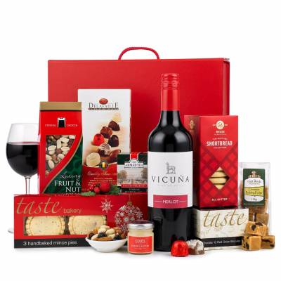 The Rejoice Red Wine Christmas Hamper