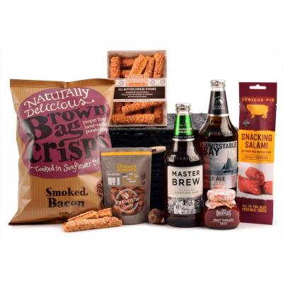 The Ale and Bar Snacks Hamper