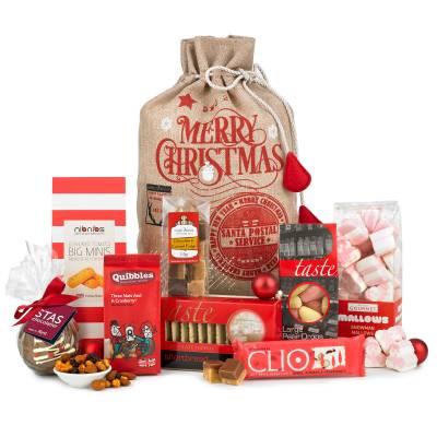The Good Tidings Christmas Treats Sack