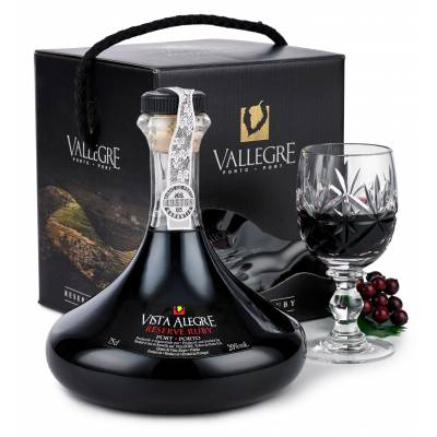Vista Alegre Ruby Port Decanter