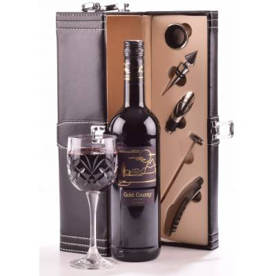 Red Wine Connoisseurs Gift Case