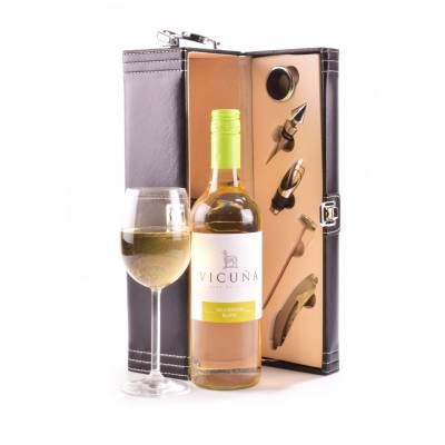 White Wine Connoisseurs Gift Case