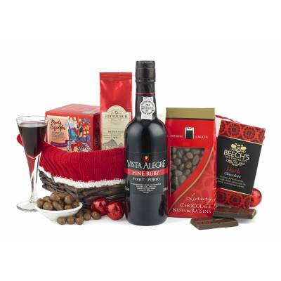 Port and Chocolates Hamper