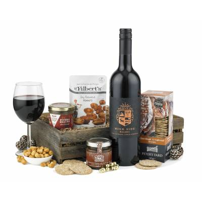 Pate, Wine and Nibbles Hamper