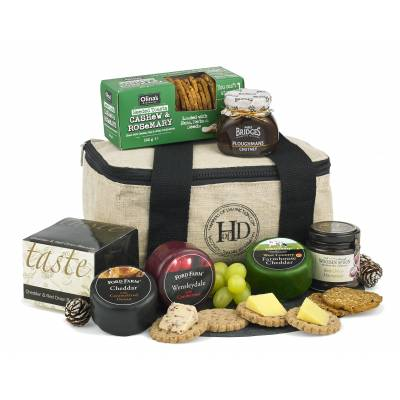 The Luxury Cheese and Nibbles Cool Bag