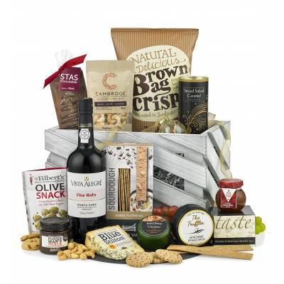 The Festive Port and Stilton Hamper