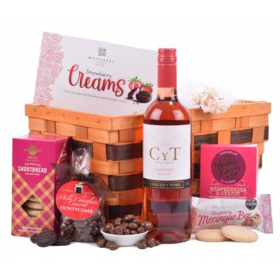 Rose and Sweet Treats Hamper