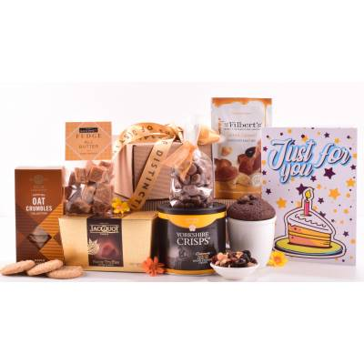 Happy Birthday Treat Tower Hamper