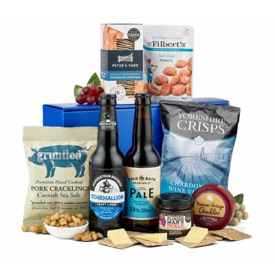 Cheese, Beer and Nibbles Gift Box
