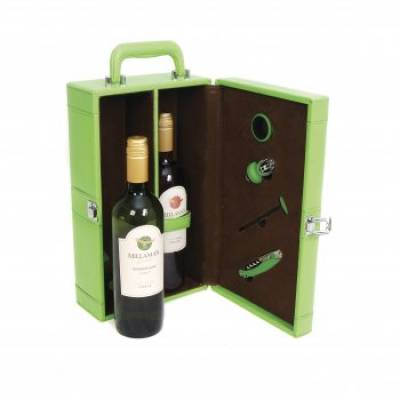 Ascot Green Double Wine Case