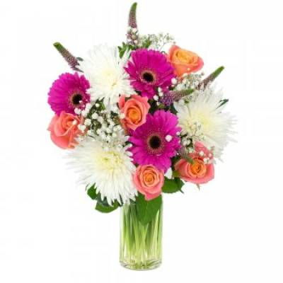 """Flower Fusion"" Floral Bouquet"
